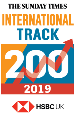 Collinson named in HSBC International Track 200 in 2019