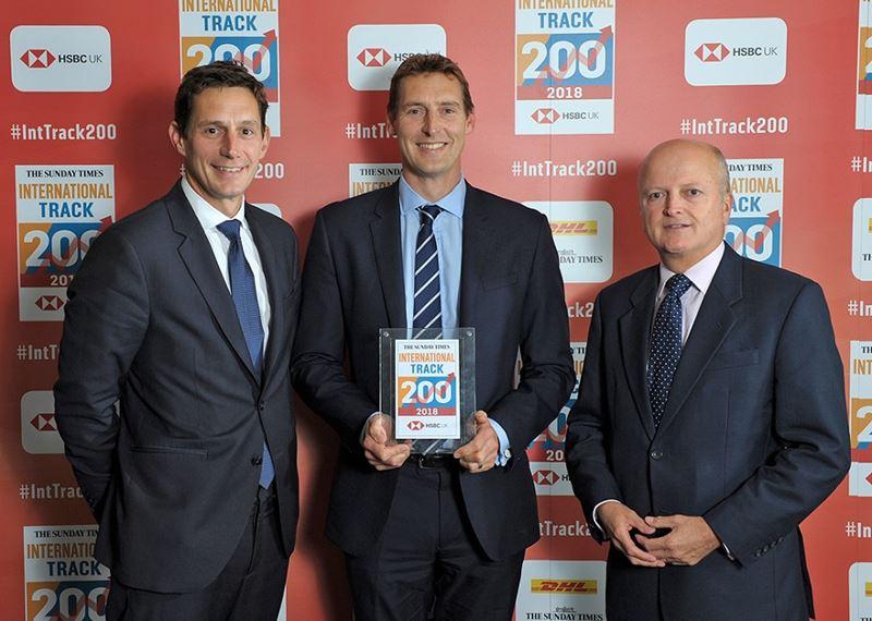 Award   The Sunday Times HSBC International Track 200