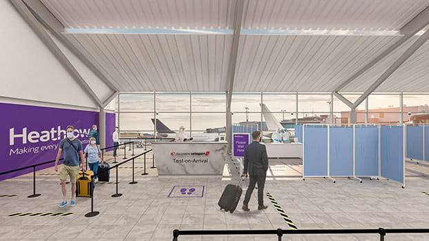 Heathrow ready to become first in COVID-19 pilot testing