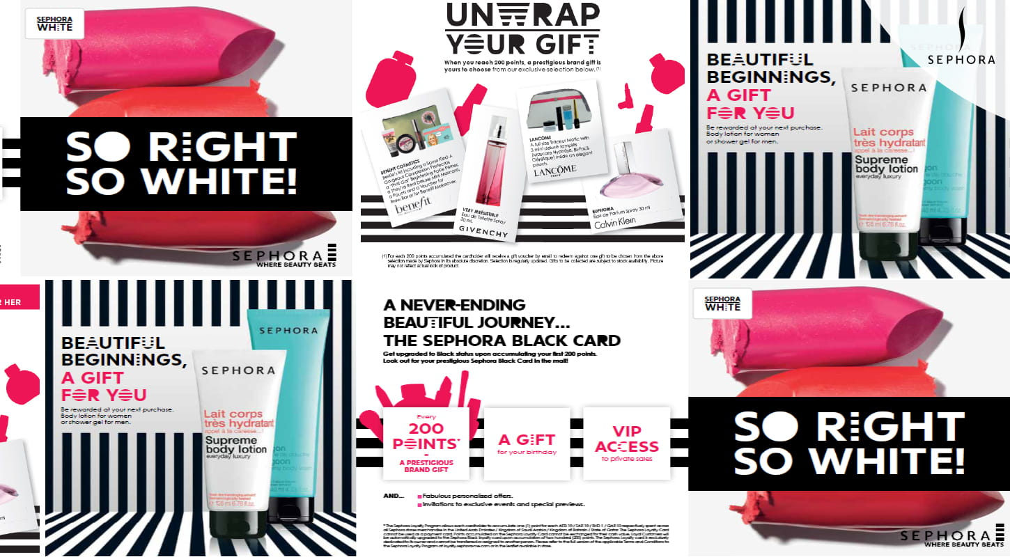 collinson | Transforming Sephora's loyalty programme across the Middle East.
