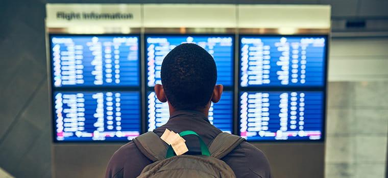 Airlines: Flight Disruption Assistance - Stranded Traveller | Collinson