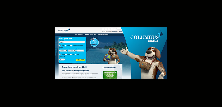Insurance | Columbus Direct - Travel Insurance, Home Emergency, Motor Insurance | Collinson