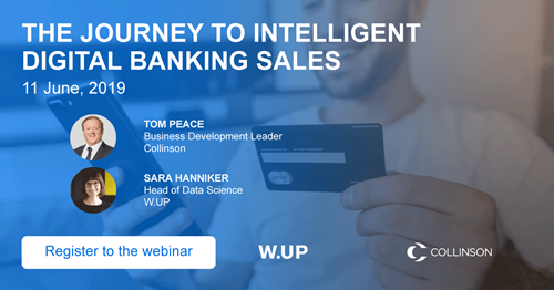 "Website: The journey to intelligent digital banking sales"" with Collinson's guest speaker 