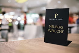 New Priority Pass welcome sign on its way